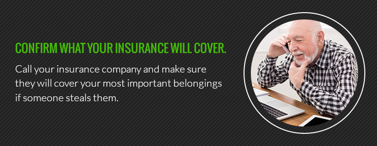 confirm what your insurance will cover