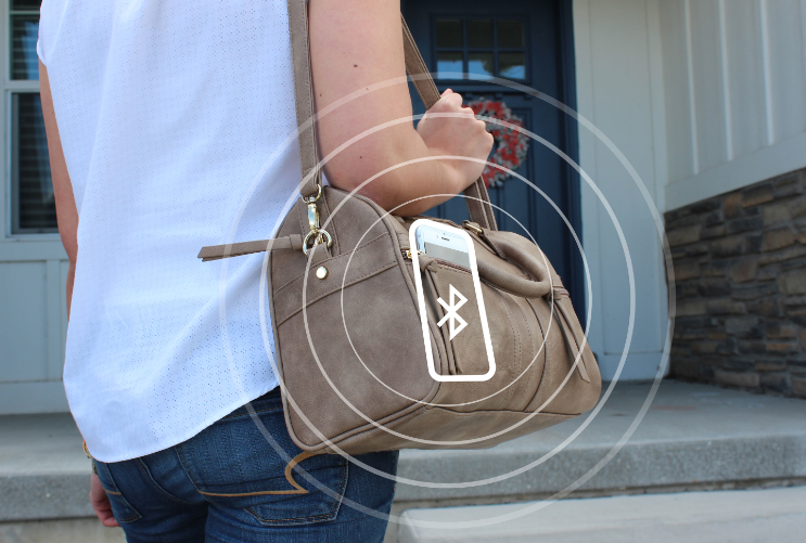 Qolsys bluetooth disarming security system from phone