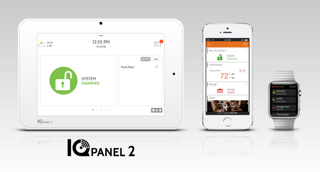 Qolsys IQ Panel 2 Smart Security Systems