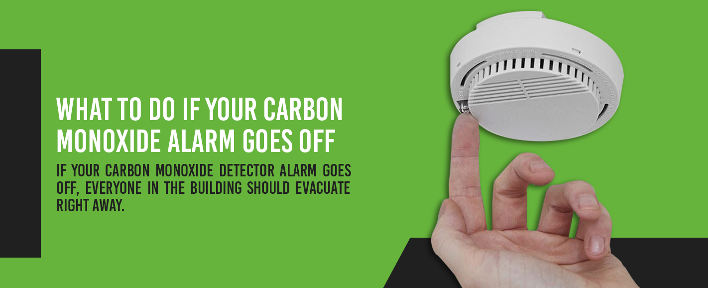 what to do if your carbon monoxide detector goes off