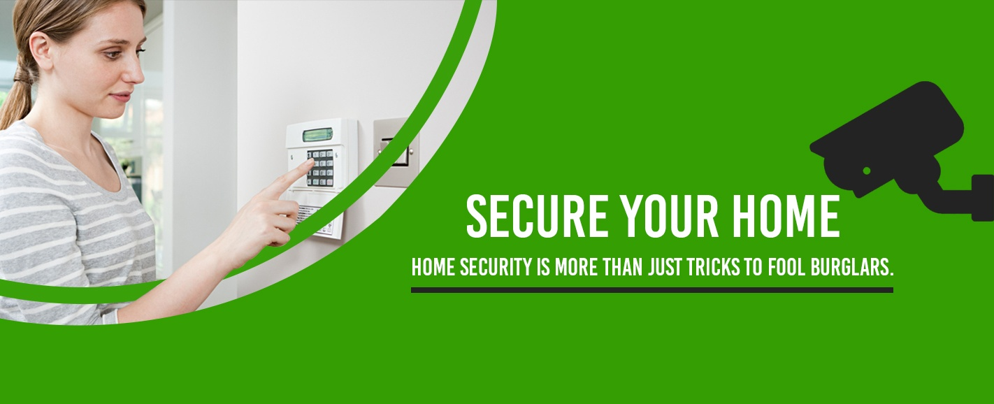secure your home using home security systems